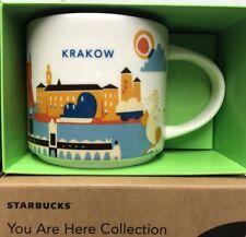 Starbucks KRAKOW 2017 - You Are Here - ( YAH ) Global City Icon Mug with Box