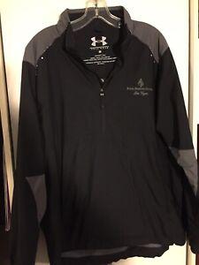 Mens Under Armour Golf Wear Half-zip Long Sleeve Jacket Size Medium