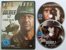 ⭐⭐⭐⭐ SOLDIER 1 + 2  ⭐⭐⭐⭐ Mel Gibson ⭐⭐⭐⭐ FSK 16 ⭐⭐⭐⭐ 2 DVD ⭐⭐⭐⭐