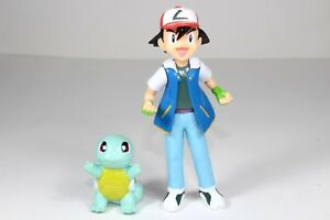 Pokemon Lot Ash Ketchum squirtle 1999 2002 Nintendo Rare Toy Figures Collection