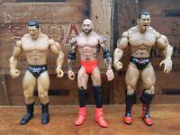 WWE Dave Batista Action Figure Bundle of 3 - Mattel