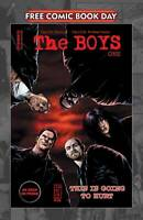 FREE COMIC BOOK DAY 2020 THE BOYS #1 2020 DYNAMITE