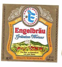 Germany - Beer Label - Engelbrau, Rettenberg im Allgau - Grunten-Weisse