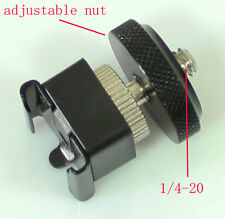 1/4-20 threaded to Universal HotShoe Mount adapter for camera flash  tripod