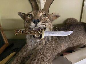 PUMA-TRAPPER'S COMPANION Right Hand Knife,  w/ sheath