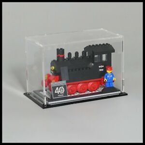Acrylic Display Case for LEGO 40 Years Train Set (40370)