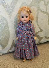 """Antique 8"""" Working Kammer Reinhardt Walker Doll Mignonette K & R Simon Halbig"""