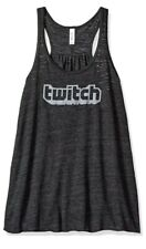 Twitch Logo Women's Racerback Tank Size Large