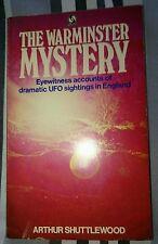 The Warminster Mystery -Arthur Shuttlewood -1st Ed. UK P.B. 1973 (True Vintage)