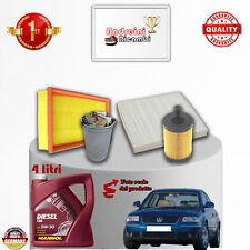Filtres Kit D'Entretien + Huile VW Passat V 2.0 Tdi 100KW 136CV à partir de 2004