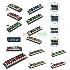 0.36 Inch 0.56 Inch 6 Digit 8 Digit 7-Segment LED Displays Module TM1637 74HC595