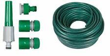 15m, 30m, 50m, No Kink Reinforced Tough Garden Hose Reel Pipe Water Hosepipe New