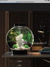 BIORB fish tank 105 Silver Only Set UP PLEASE SEE DESCRIPTION