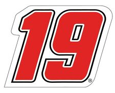 "NASCAR #19 Carl Edwards DECAL-Carl Edwards STICKER-JUMBO 10"" SIZE"