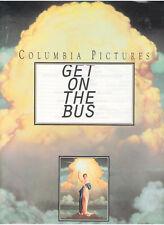 GET ON THE BUS PRESS KIT OSSIE DAVIS DUTTON BELZER BONDS MILLION MAN MARCH 1996