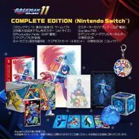 NEW Rockman 11 Mega Man Complete Edition Gear of fate Nintendo Switch amiibo F/S