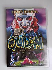 """DVD CIRQUE DU SOLEIL """"QUIDAM"""" 1999 Panorama -  A8"""