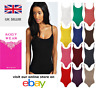 Womens Ladies Strap Strappy Sleeveless Camisole Cami Vest Bodysuit Leotard Top
