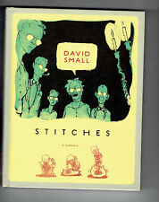 DAVID SMALL hc Stitches : A Memoir graphic novel illustrated boards B&W