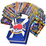 Mega Pokemon Cards Bundle Rare Flash Holo Trading Card or Pikachu Binder Album