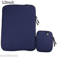 12 Pouce Toile Jeans Notebook Étui Pochette Sac D'ordinateur Portable Étui