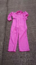 Dickies Ladies Pink Colour Boiler suit Or Overalls.