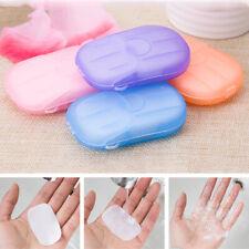 Hand Wash Germ Protection Soap Paper Jabón desechable de papel lavado a mano