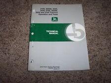 John Deere 2155 2355 2555 2755 2855N 2955 3155 Tractor Service Repair Manual