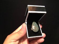 Bague femme réglable Argent 925 avec Labradorite  / Silver Adjustable ring!!