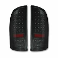 RECON 264179BK Dodge RAM 94-16 Smoked-Red Tail Lights LED