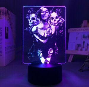 Anime Tokyo Ghoul Uta LED light 3D 2 tone bedroom lamp cartoon gift