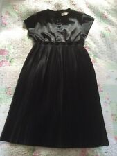 Stunning Michelle Lowe Holder For Topshop Black Dress-size 10. Tried On Once