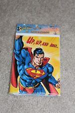 Brand New, 8 Superman Birthday Party Invites