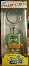 Spongebob squarepants toy vinyl collectable keychain Squidward 1.5""