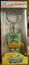 "Spongebob squarepants toy vinyl collectable keychain Squidward 1.5"""