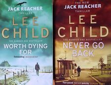 Lee Child: Worth Dying For & Never Go Back: Jack Reacher 15 & 18: Double Deal