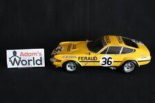 Kyosho Ferrari 365 GTB/4 Competizione 1972 1:18 #36 Bell / Pilette / Bond (PJBB)