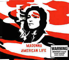 American Life [Single] by Madonna (CD, Apr-2003, Maverick)
