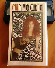 CHER THE VIDEO COLLECTION - 1993 VHS
