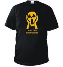 T-SHIRT NO AL NUCLEARE no nuclear emergenzy maglia polo