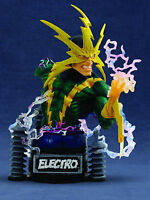 Electro Marvel Diamond Select Art Asylum's Rogues' Gallery Bust Statue New