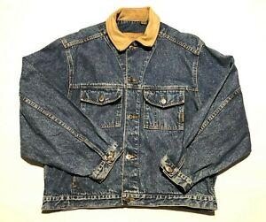 vintage Timberland mens denim jacket M