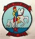 USMC Original vintage Squadron patch  HMM-764 DEATH FROM BEHIND