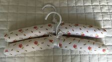 2 Baby Padded Clothes Hangers