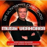 """DIE ULTIMATIVE CHARTSHOW """"MUSIKVERHÖRER"""" CD NEU"""