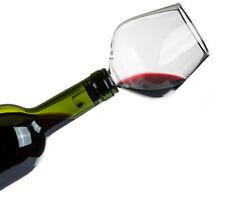 Glas Flaschenaufsatz mit Silikondichtung Wein Dispenser Trinktrichter Aufsatz