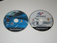 Gran Turismo Games - PlayStation 2 Ps2 Lot of 2 - Disc Only