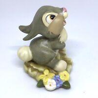 Walt Disney Figurine Thumper Rabbit Hee! Hee! Hee! Bambi Figurine Box & COA