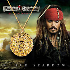 Pirates of the Caribbean JACK SPARROW cursed coin pendant necklace Gift