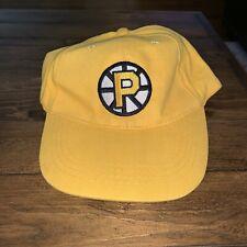 Providence Bruins Minor League Hockey AHL Strapback Yellow Cap OSFA